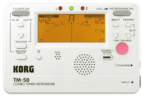 Korg TM-50PW Combo Tuner Metronome
