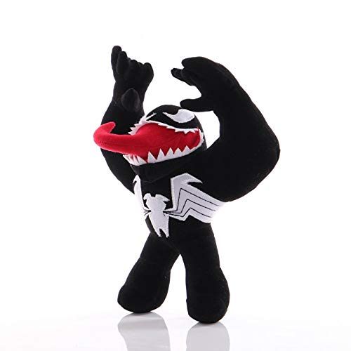 letaowl Peluche giocattoli 24cm Plüsch Marvel Superhero Venom Plüsch Kuscheltier Plüsch Kuscheltier Spielzeug Kinder
