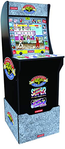 ARCADE1UP Street Fighter 2 - Classic 3-in-1 Home Arcade Cabinet with Licensed Riser