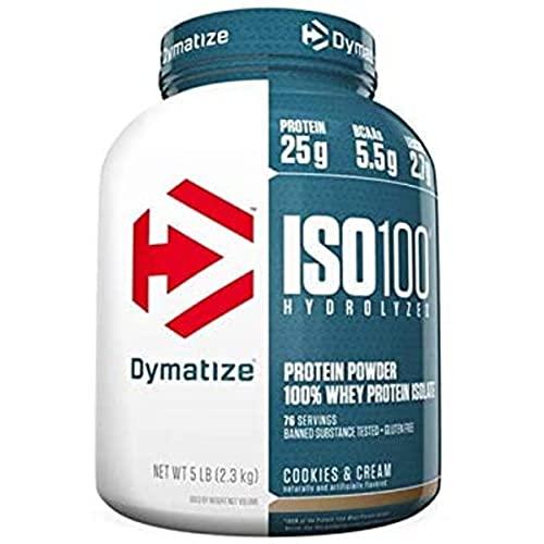 ISO 100-100% Hidrolyzed (2258g) Dymatize- Cookies