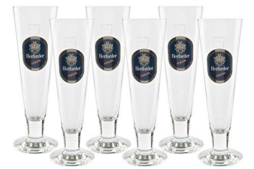 6 original Herforder Alkoholfrei exclusiv Pokale 0,2l Gastro Edition Pokal