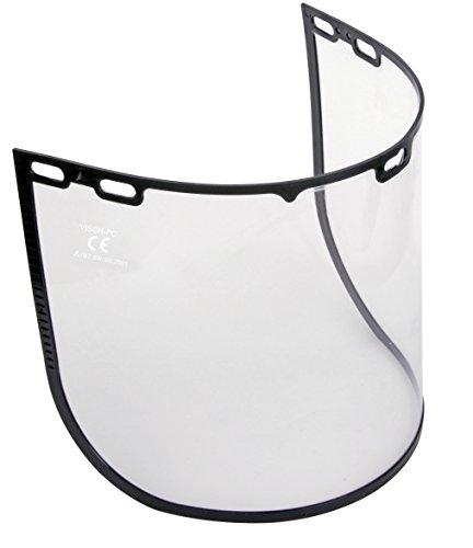 Delta plus - Kit visera visor-pc adaptable policarbonato incolora (2u)