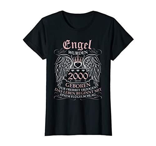 Damen Geschenk zum 20 Geburtstag Jahrgang 2000 20 Jahre 2020 T-Shirt