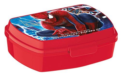 ALMACENESADAN, 0418, Sandwichera Rectangular Marvel Spiderma