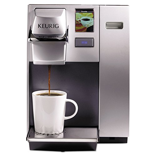 Keurig 20155 Officepro K155 Premier Brewing System, Single-Cup, Silver