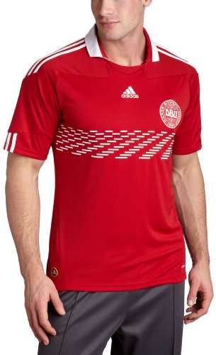 Denmark Home Jersey (Power Red, XLarge)