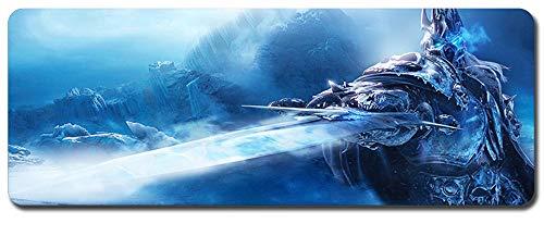 CAIYI World of Warcraft Tapis de Souris de Jeu specialize,Gaming Gamer, Tapis de Table d