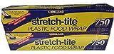 KIRKLAND SIGNATURE Stretch Tite Plastic Wrap Pack X 750' 1' (1500 Sq'),, None, 2.0 Count 1