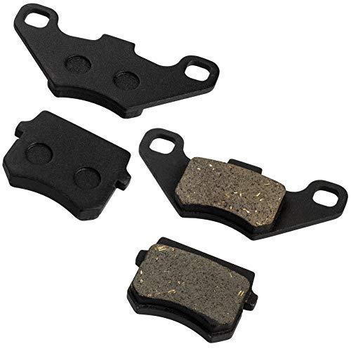 PAGOW 2 Pairs Disc Brake Pads for 50cc 70CC 90 cc 110 cc 125cc Taotao SunL JCL Coolster Kandi Supermach Tank Kandi Kinroad BV Powersports DongFang ATVs Go karts Quad 4 Wheeler