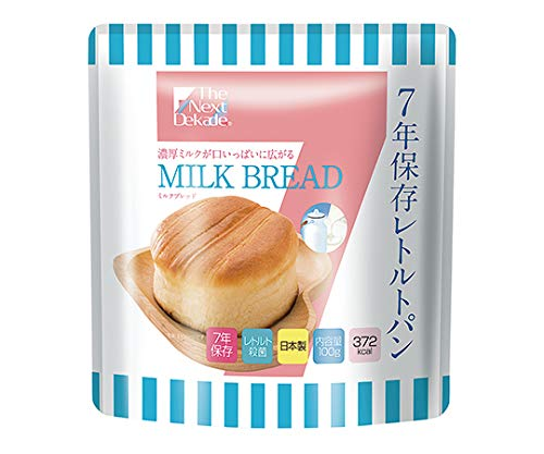 グリーンケミー 7年保存レトルトパン The Next Dekade ミルクブレッド