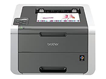 Brother Printer HL3140CW Digital Color Printer with Wireless Networking Amazon Dash Replenishment Ready