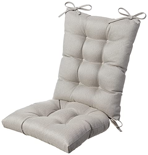 The Gripper Non-Slip Omega Jumbo Rocking Chair Cushions Set, Seat and...