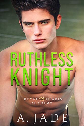 Book's Cover of Ruthless Knight: A Standalone Enemies-to-Lovers Romance (Royal Hearts Academy) (English Edition) Versión Kindle