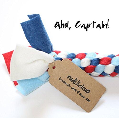 Hundespielzeug Tuggy Toy Classic Ahoi Captain