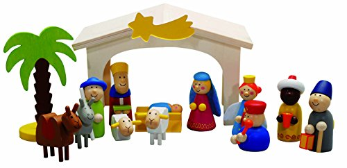 Weihnachtskrippe Spielkrippe Weihnachten Krippe Drei Könige by Forchtenberger Puzzle-Spiele
