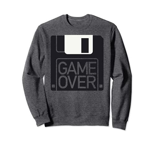 Floppy Disk Gaming Geek Retro Computerspeicher Diskette Nerd Sweatshirt