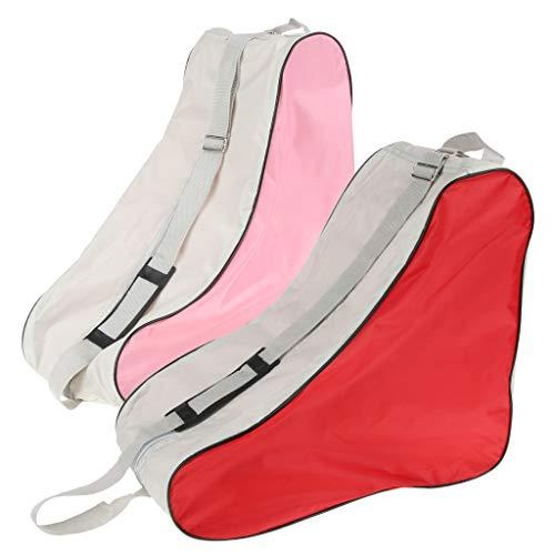 perfeclan 2 Uds Bolsa Impermeable para Patines de Ruedas Zapatos de Patinaje en Línea Bolsa Organizadora de Almacenamiento de Patines para Quad Ice Skat