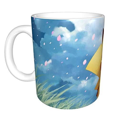 Doraemon - Taza de café reutilizable para café, té y cerveza de 12 onzas