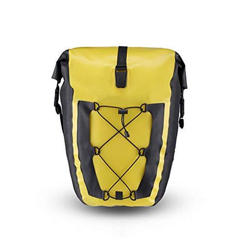 FINSHN High Capacity Bike Bag Fahrradtasche Tasche for Fahrrad-Dachgepäckträger Sattel Wasserdichten Fahrrad-Rücksitz-Beutel-bewegliche Schultertasche for das Reiten Touring Profi Radsport Zubehör