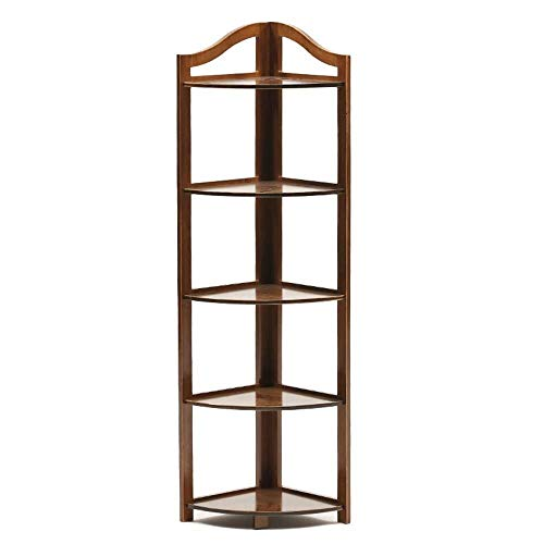 ZBM-ZBM boekenkast, massief hout statief opslag Rack/opbergdoos voor woonkamer, slaapkamer, garderobe vloer opslag plank multi-layer reclame rack 130X31cm