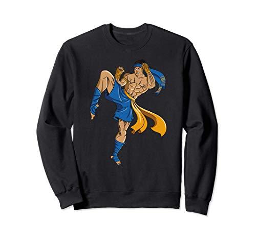 Mui Thai Kampfsport Geschenk Sweatshirt