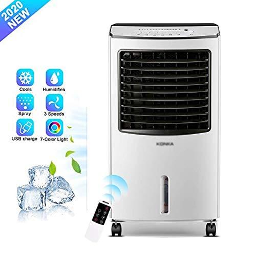 Climatizzatori Portable Tre-in-one Condizionatore, Veloce Raffreddamento E Riscaldamento, 3 Velocità Ventilatore, Visualizzazione Del Timer LED 24 Ore, 13000BTU Mobili Condizionatore ( Color : White )