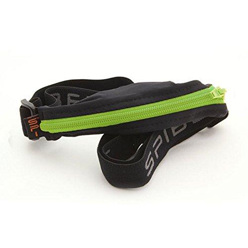 Spibelt Uni S Original pour Basic with Lime Zipper Sac de Course, Noir, XL