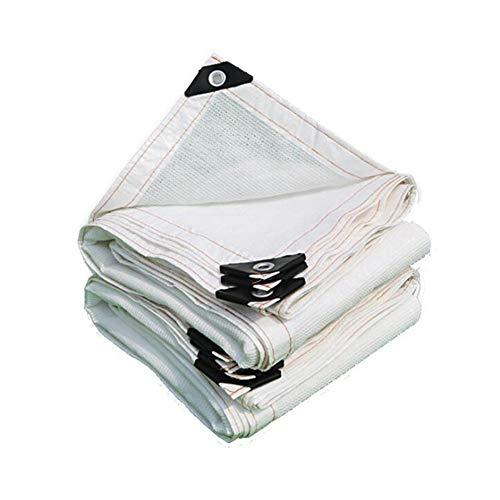 FLBTY 85{5f8da70a8cc037d9f7766ad53a0b6f348c161c94db32ad43cc04a2936773923b} Sunshade Net Swimming Pool Sonnensicheres Shading Net Home Balkon Sukkulenter Pflanzenschutz Carport Cover Weiß Anti-UV HDPE