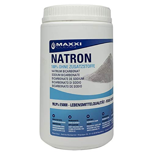 Natron - Backpulver - 1kg Dose - Natrium Bicarbonat