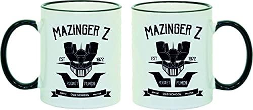 Taza Mazinger Z Old School