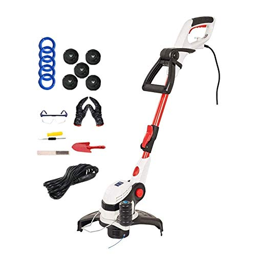 High Power Electric Lawn Mower, 650 W Small Household Weeder, Garden Lawn Mower, Cutting Width 29 Cm for Trimming Weeds SHIYUE