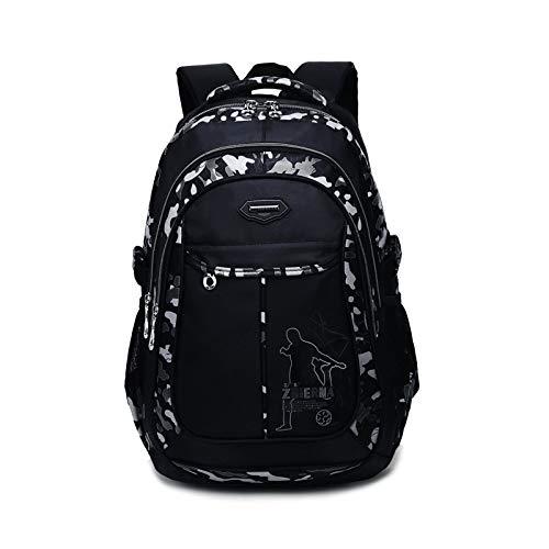 Hanggg Borsa da viaggio per il tempo libero zaino in nylon borsa per computer moda maschile borsa per scuola femminile borsa per studenti della scuola media