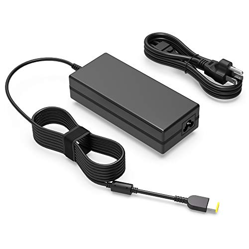 135W AC Charger Fit for Lenovo Legion Y50 Y520 Y530 Y50-70 Touch Y50-80 Y50p Y50p-70 Y50c, Thinkpad ThinkVision X1 Extreme 1st 2nd Gen 2 LT2223d 21.5-inch FHD WLED LCD Laptop - Power Supply Adapter
