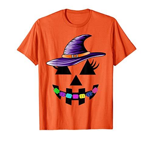 Halloween Pumpkin with Braces T-Shirt