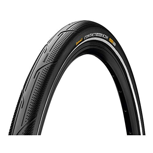 Continental Unisex_Adult Contact Urban Bicycle Tyres, Black, 28' | 700 x 35C | 28 x 1 3/8 x 1 5/8