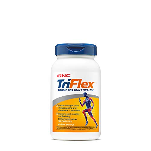 GNC TriFlex | Supports Joint Health, Mobility and Flexibility | 120 Caplets