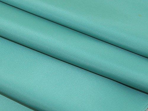 Premium Antistatischer Taftstoff für Kleider, Meterware, Meeresgrün
