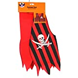 Dazzling Deals Red and Black Pirate Costume Vest One Size Fits Most Kids