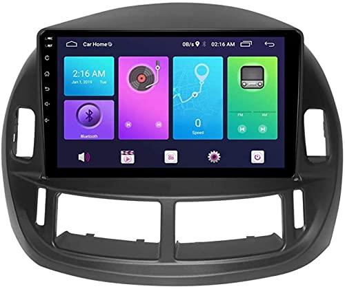 GPS Navegación para Toyota PREVIA 2003-2008 Android AUTER Stereo Sat Nave Cabeza Sistema Sistema SWC 4G WiFi BT USB Link Mirrod Carplay Incorporado Carplay