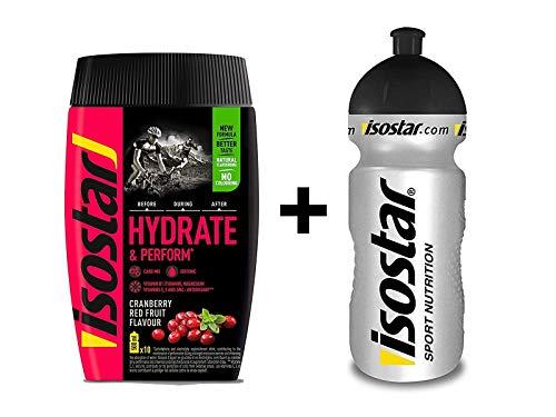 Isostar Hydrate & Perform Iso Drink - 400 g de bebida isotónica en po