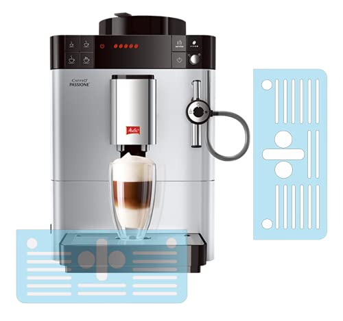 3 x Schutzfolie für Melitta Caffeo Varianza & Caffeo Passione Abtropfblech - Tassenablage - Ablage - Tropfblech - F53 - F54 - F55 - F57 - F58