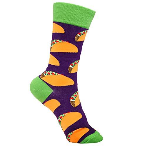 plantlife Socken Lebensmittel Design Essen diverse Motive (Taco)
