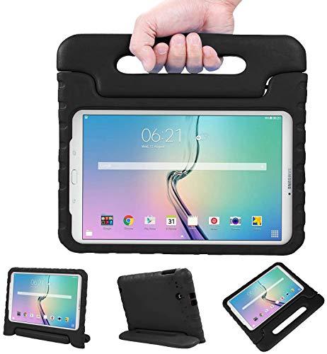 """NEWSTYLE Samsung Galaxy Tab E 9.6 Pollici Eva Cover, Custodia Antiurto Portatile per Bambini con Supporto per Cellulare Tablet Funzione leggio per Samsung Tab E SM-T560/SM-T561 9.6"""" Nero"""