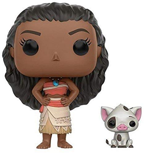 "Funko 9926 Disney Moana 9926 ""POP Vinyl Moana and Pua"" Figure"