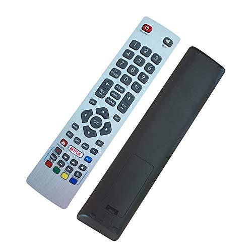 FOXRMT Ersatz Fernbedienung für Sharp SHWRMC0115 SHW-RMC-0115 für Sharp Aquos Fernbedienung TV