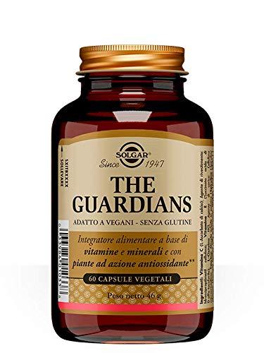 Solgar Advanced Antioxidant Formula, Integratore Alimentare a base di Vitamine e Minerali e con Piante ad Azione Antiossidante, 60 Capsule Vegetali