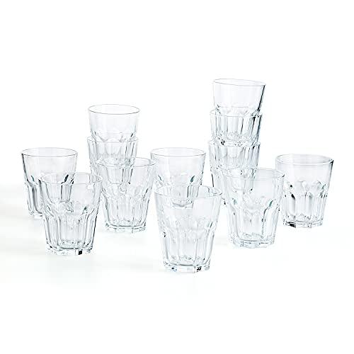 Vasos Cristal Agua Apilables Marca Luminarc