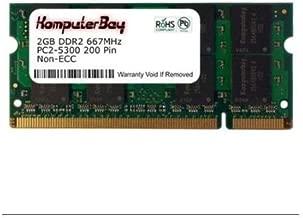 2GB Memory RAM Upgrade for the Lenovo Thinkpad R61 Series, T60 Series, T61 Series, X60 Series and X61 Series Laptops (DDR2-667, PC2-5300, SODIMM)
