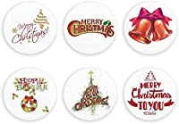 6個のビール栓抜き、ミニ冷蔵庫用マグネット、冷蔵庫用マグネット、クリスマスコルク栓抜き冷蔵庫用マグネット-ホワイト-6 PCS