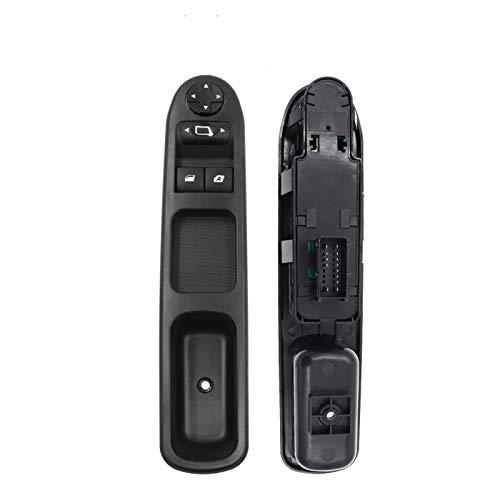 SHENG 6554.KT Coche Electric Power Window Interruptor Ajuste para Citroen C3 C4 para Peugeot 207 307 407 2000-2014 6490hq 6554qc 6554ha 6554er (Color : 6554.QC RHD)